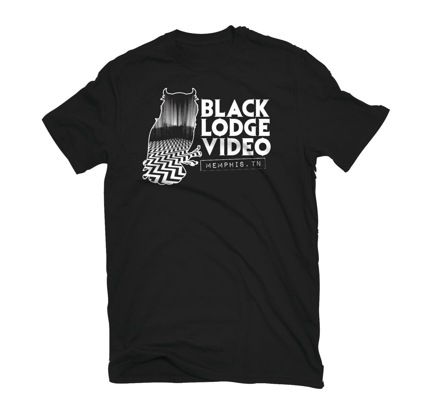 eb86b72e6 official Black Lodge Video t-shirt — HOLTERMONSTER