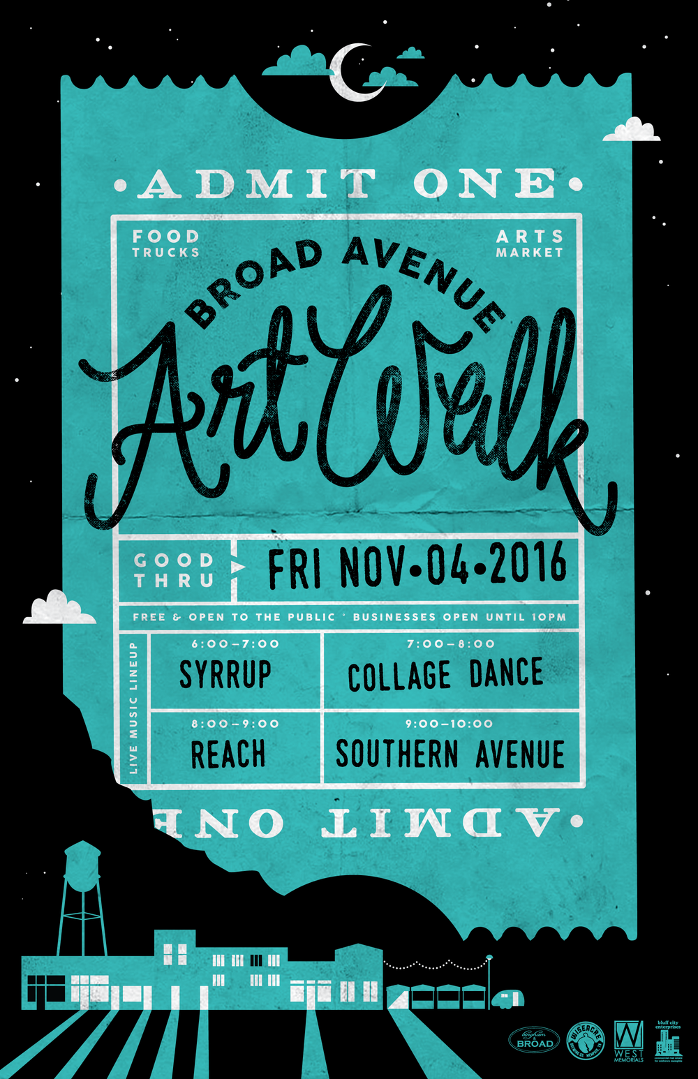 Broad Avenue Art Walk — Fall 2016