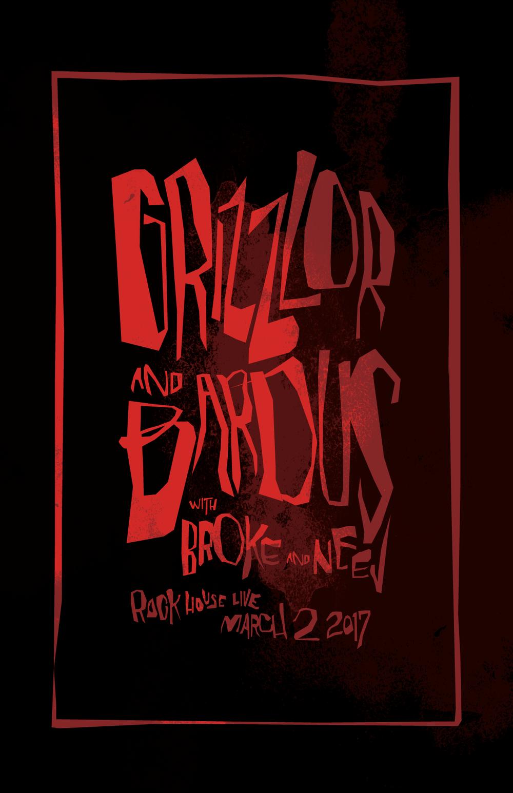 GRIZZLOR • BARDUS • BROKE