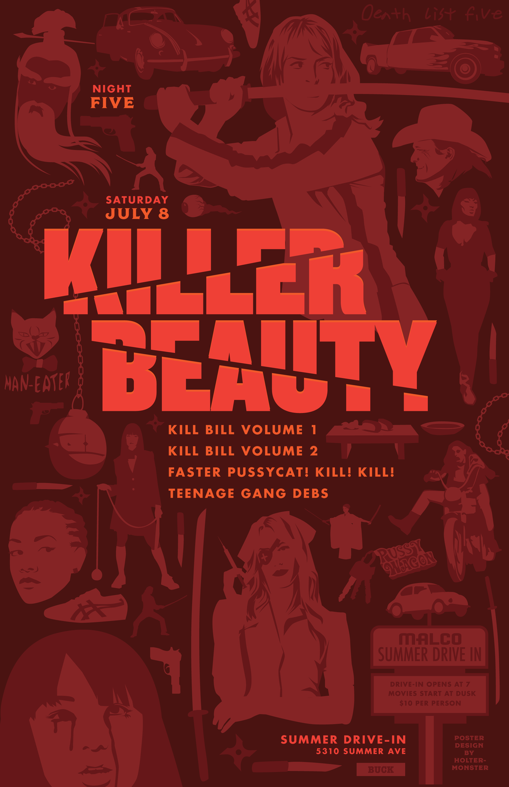 Time Warp Drive-In: Killer Beauty