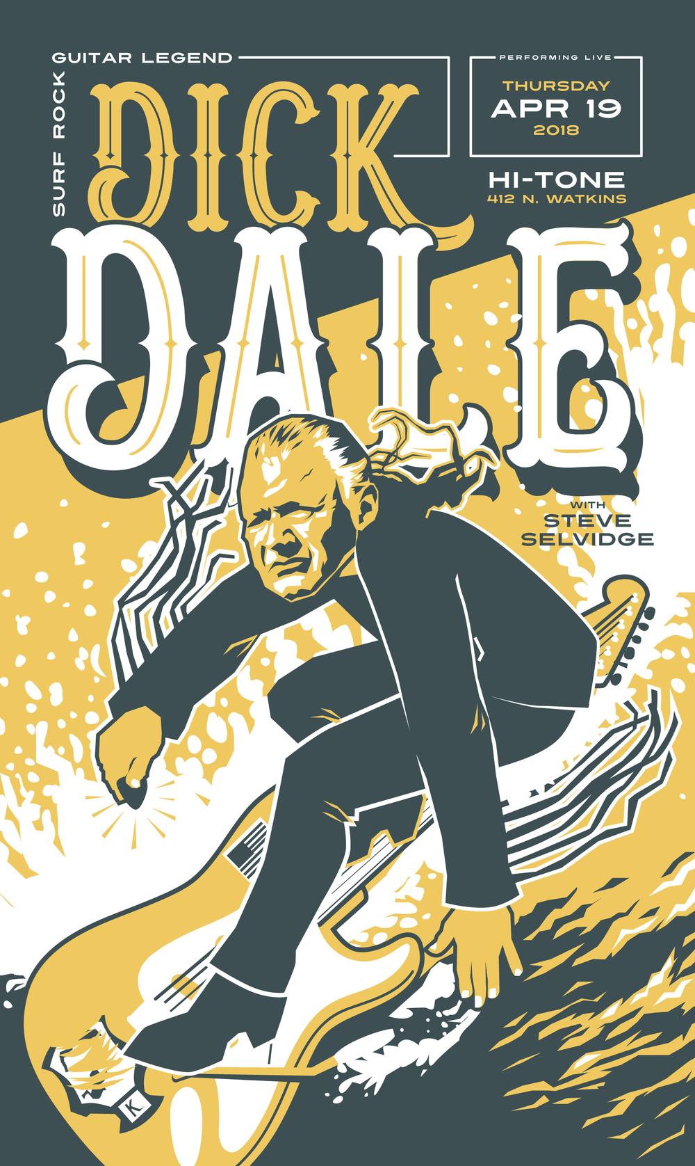 Dick Dale at the Hi-Tone, 2018