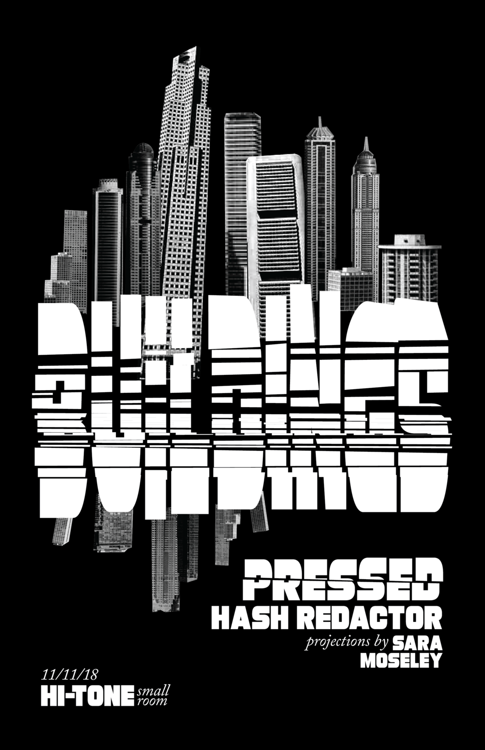 Buildings / Pressed / Hash Redactor
