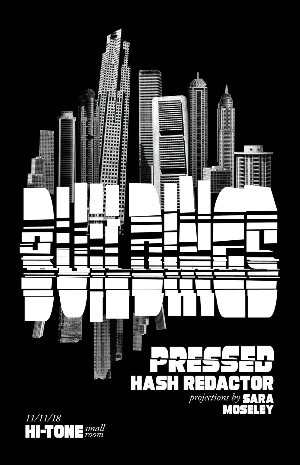 Buildings / Pressed / Hash Redactor