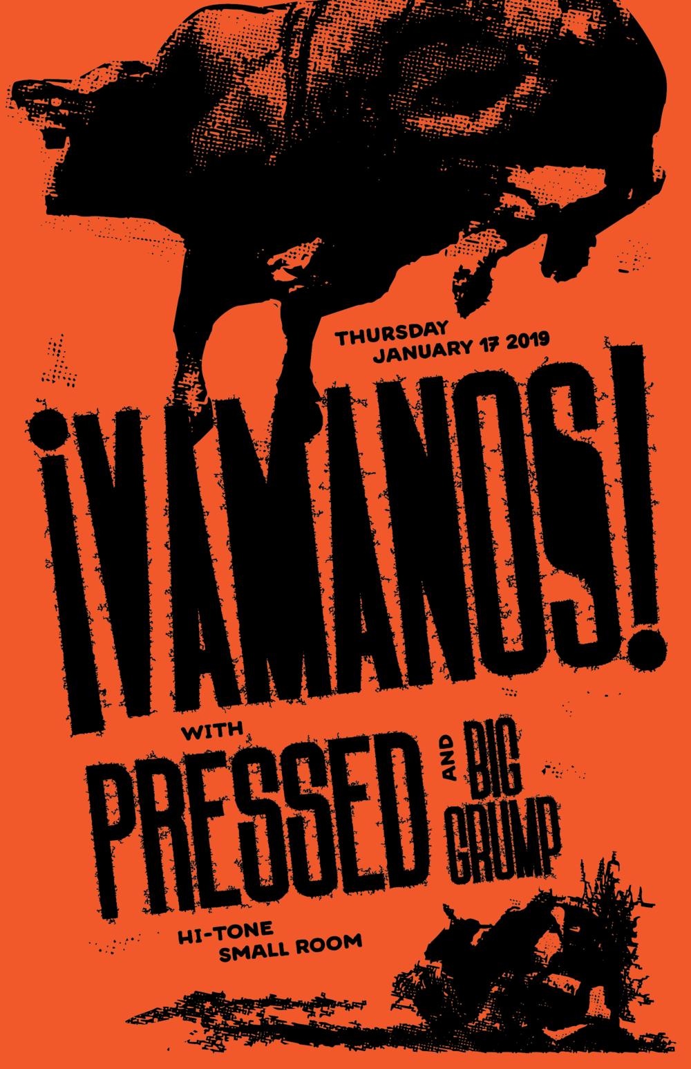 ¡VAMANOS! with Pressed & Grump