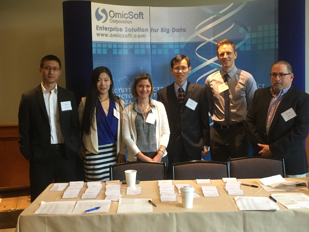 Photo taken in OmicSoft Annual User Meeting (05/04/2016): Daniel, Viv, Chrys, Wenjin, Joe, Rob
