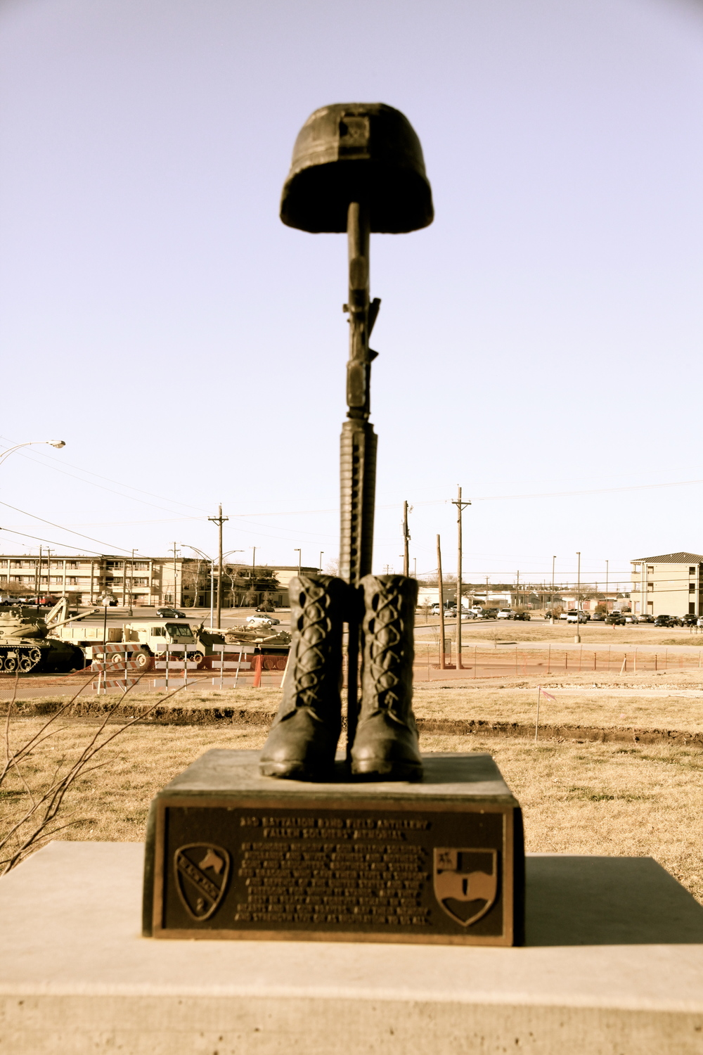 Battle Cross, Fort Hood Military Base