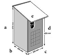 a- 470mm b- 200mm  c- 200mm     d- 420mm  e- 70mm