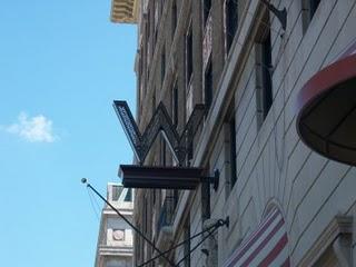 W Hotel D.C. signage
