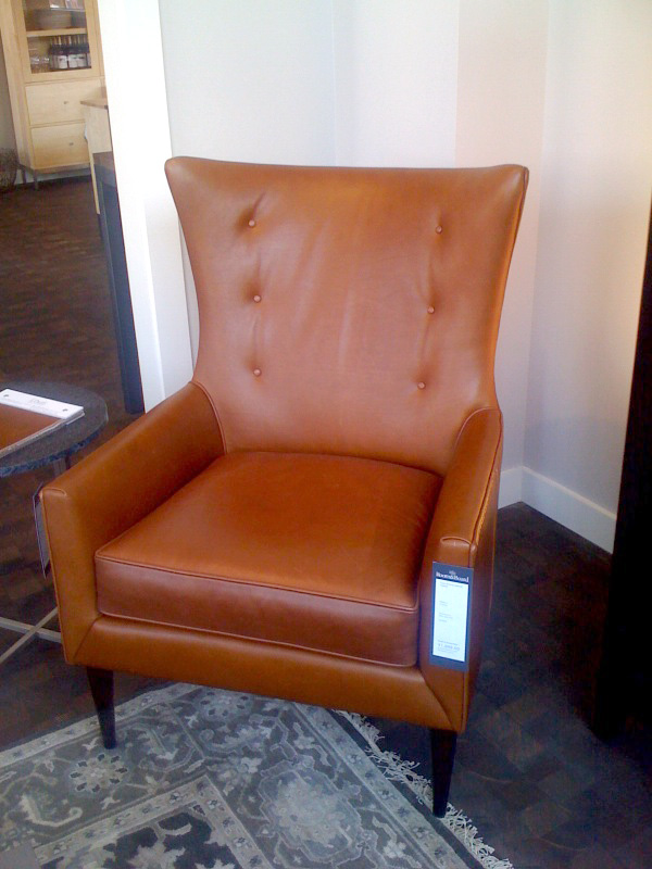 It Is Important To See And Experience A Piece Of Furniture Before You Buy.  I Loved The Louis Leather Chair (above) In Person But Disliked The Chair  Online.