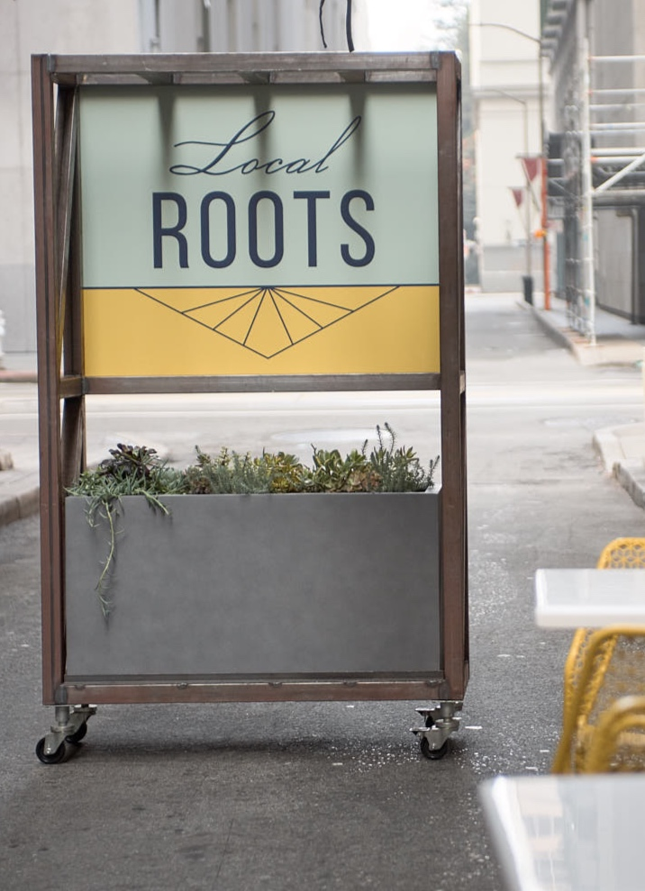 Image of Exterior Signage for Restaurant