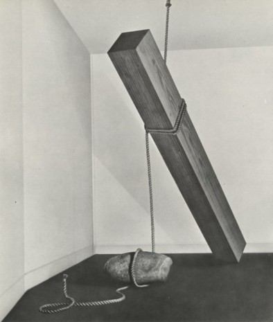 "Katsuro Yoshida, ""Cut-off (hang)"",1969/1986."