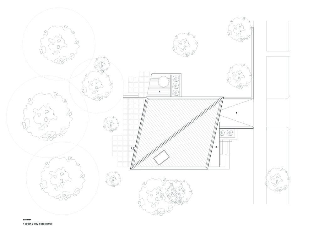 Warner Frey Residence Site Plan