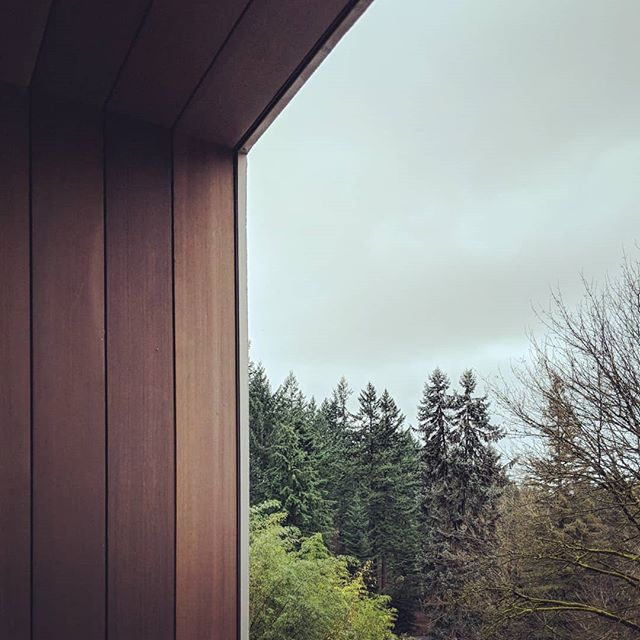 PROJECT / Finishing details are coming together nicely at our latest Portland custom home project #pacificnorthwest #architecture #leckiestudio