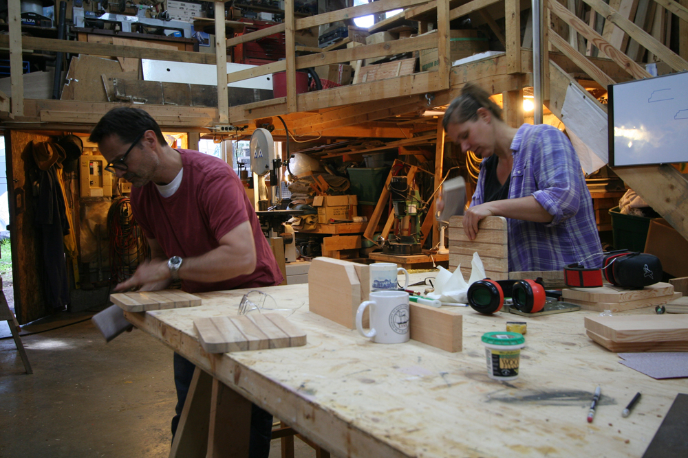 2 students planing in Intro to Woodworking 2015.jpg