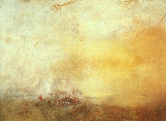 Sunrise with Sea Monsters by J.M.W. Turner