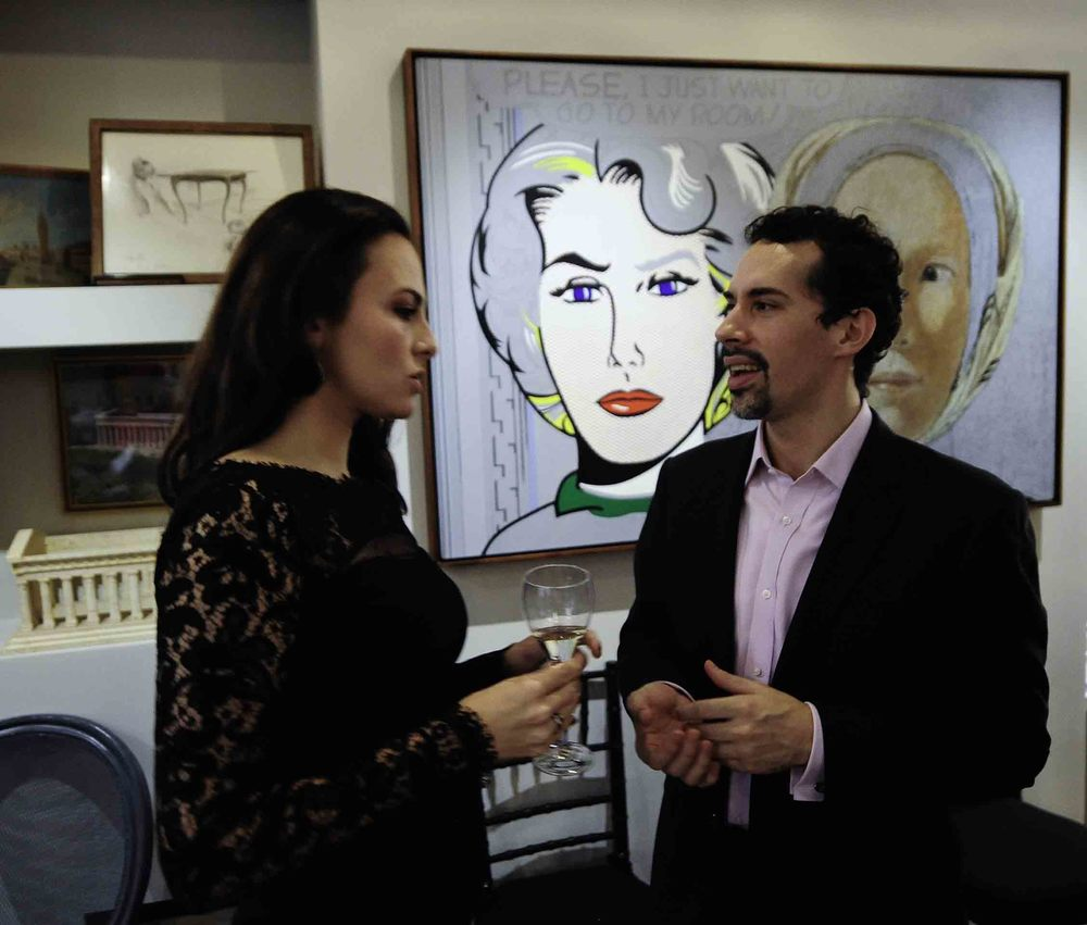 Isabel Leonard and Ricardo River