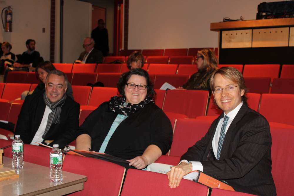 Region Finals Judges Nicholas Russell, Gayletha Nichols and Thomas Bagwell