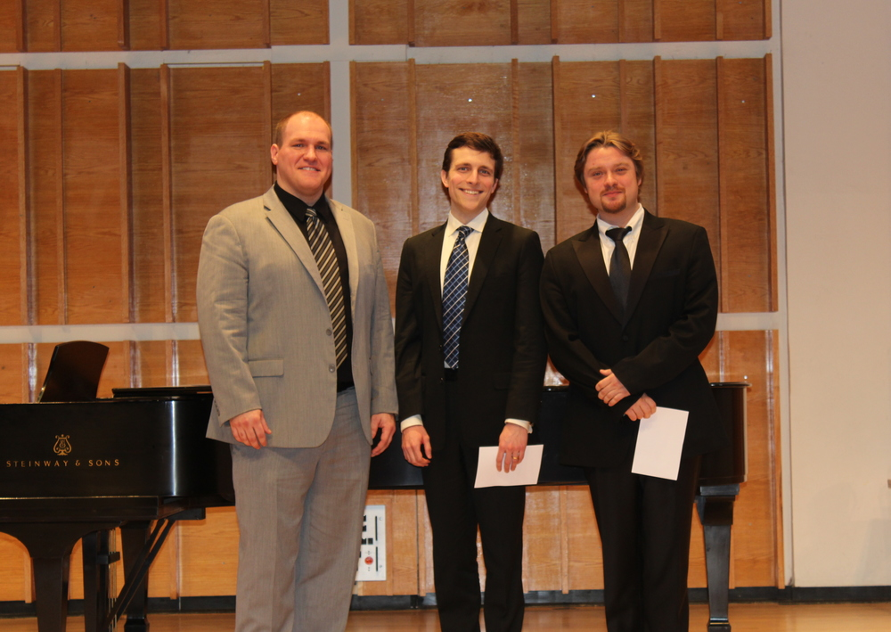 Region Finalists Scott Russell, John Kapusta and Viktor Antipenko