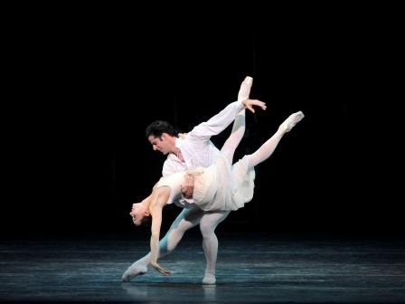 Marcelo Gomes and Diana Vishneva in Manon. Photo courtesy of Gene Schiavone
