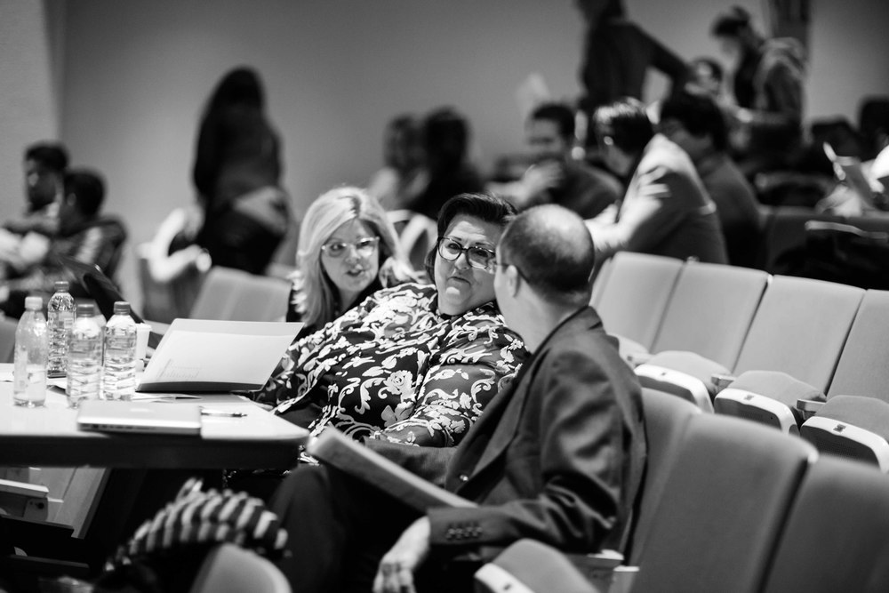 Judges Susan Graham, Gayletha Nichols and Richard Bado