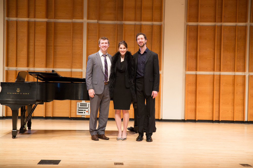 1st Place Winners Joseph Dennis, Virginie Verrez and David Leigh