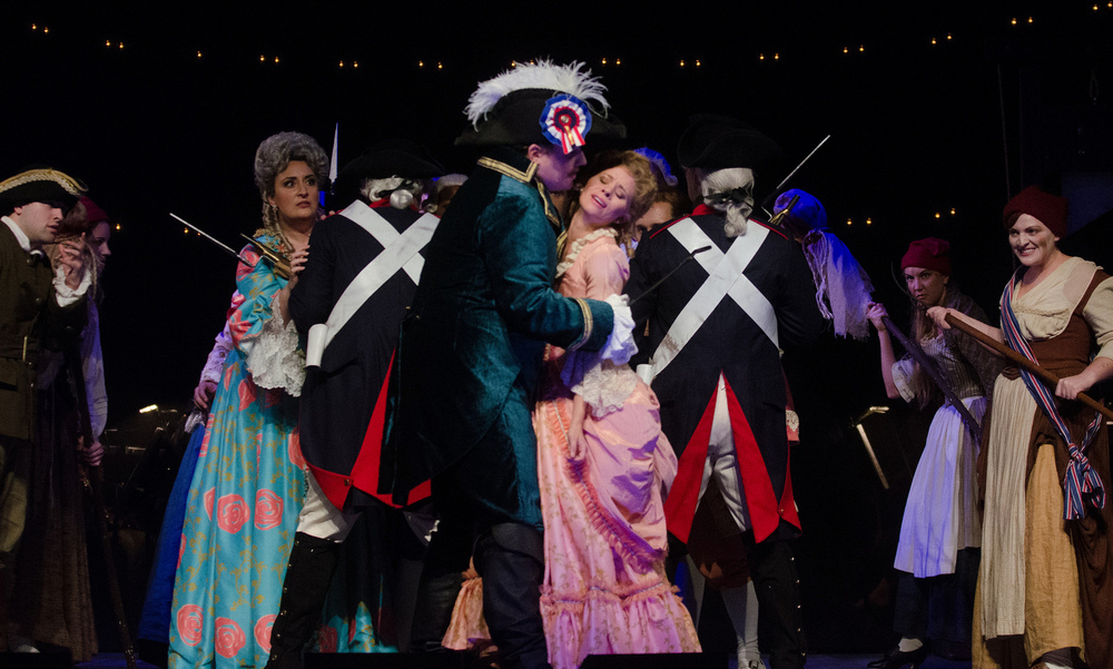 Florestine, The Ghosts of Versailles - Wolf Trap Opera 2015 - Photo by Kim Witman