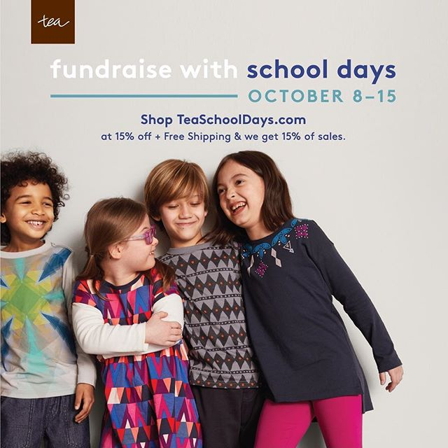 You need not be a Willow Wood family to take advantage of the best deal in town!  We are thrilled to be participating in Tea Collection's Fundraise with School Days program through 10/15.  Shop globally-inspired children's clothing on TeaSchoolDays.com, and use code SDF18WILLOWWOOD for 15% off your order + free shipping!  The best part is that 15% of your order gets donated back to us while you get great quality and stylish clothes.  Don't forget that the holidays are RIGHT around the corner, so stock up for parties, events, and gifts!  #willowwoodps #willowwoodplg