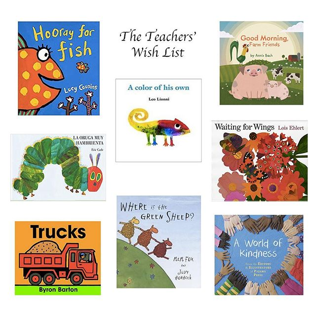 Tis the season of giving, and the Book Fair is this Friday & Saturday at The Book Stall (@the_book_stall )! This year we have an exciting opportunity for your child to gift a book to their teachers that their whole class will love! The teachers came up with a creative wish list for each class, including Hola & Bonjour as you can see here with La Oruga Muy Hambrienta. Here is just a sample of the books, but for our convenience The Book Stall will kindly have all the book pulled and ready for purchase in a labeled box.
