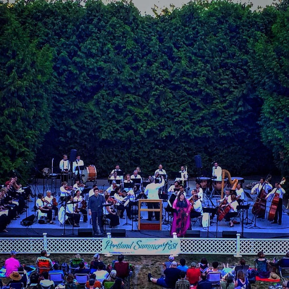 Portland Summerfest concert with Angela Meade.