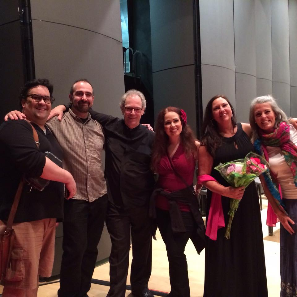 The cast and conductor for Carmen with the Walla Walla Symphony.  With Anton Belov, Maestro Yaacov Bergman, Sarah Mattox, Dianne Gray-Chamberlain, and Lexa Ferrill.