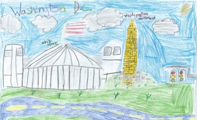 Washington D.C. by Ali Khawaja, age 8
