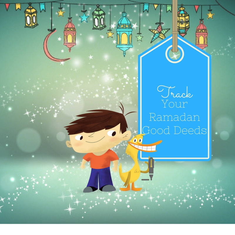 Join in on tracking all of your good deeds in this blessed month of Ramadan!
