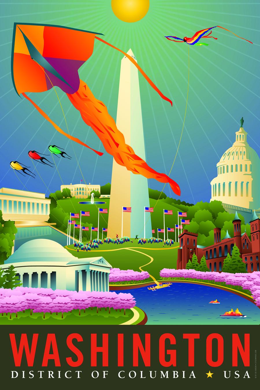 Washington D.C., sm canvas Product #: CP1036 Description: 8x12 canvas art Washington D.C., lg canvas Product #: CP1037 Description: 16x24 canvas art