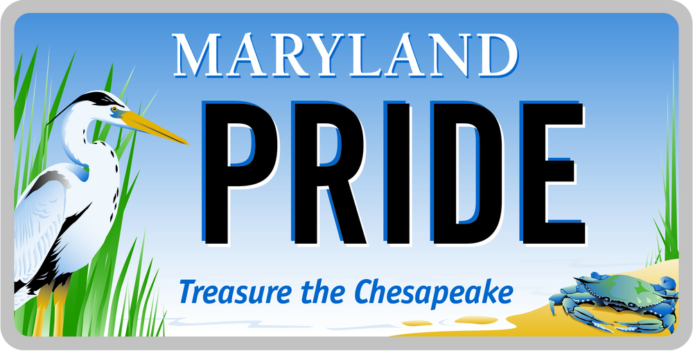 Joe Barsin designed and illustrated the Maryland Bay Plate.