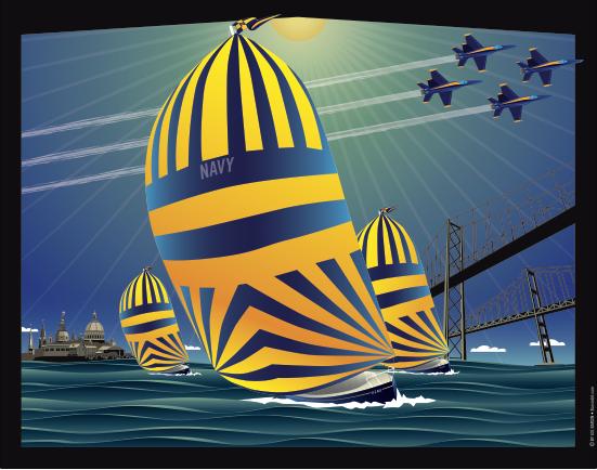 USNA High Noon Sails