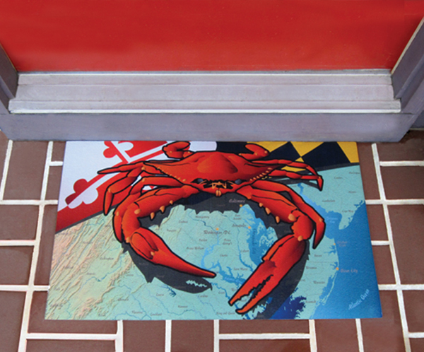 Door Mat (Crab Mat shown)