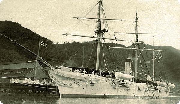 Circa 1898, Gunboat