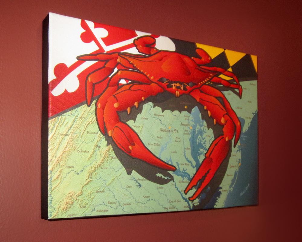 CITizen crab (shown)
