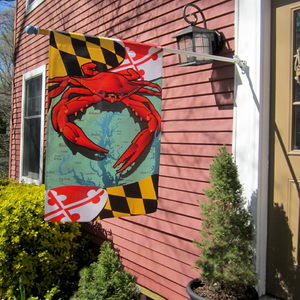 House flag (MD Red crab design shown)