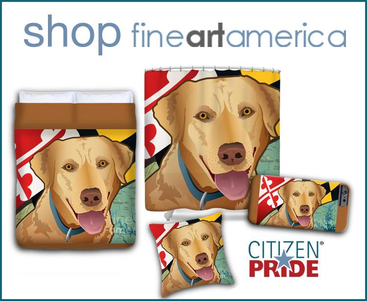 Just a few examples of what you can create through Fine Art America and Citizen Pride!