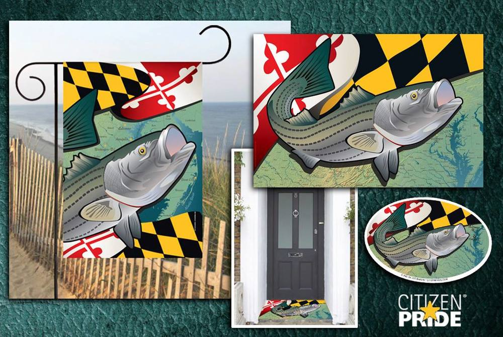 Citizen Pride's Maryland Rockfish series