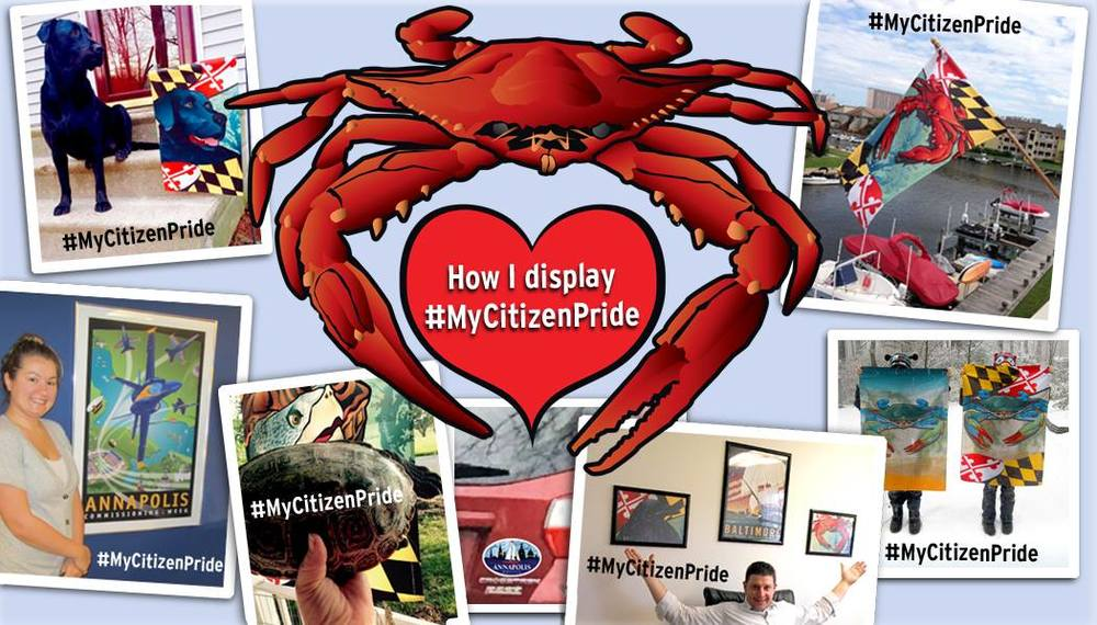 how i display #mycitzenpride