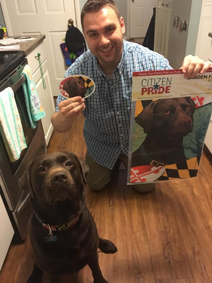 Chocolate Lab APPROVED!