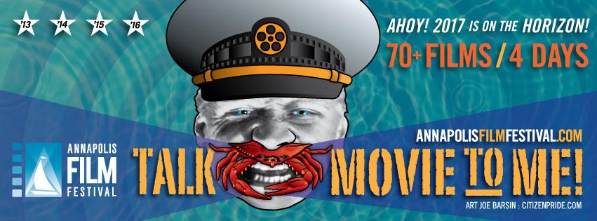joe barsin's 2016 annapolis film festival poster