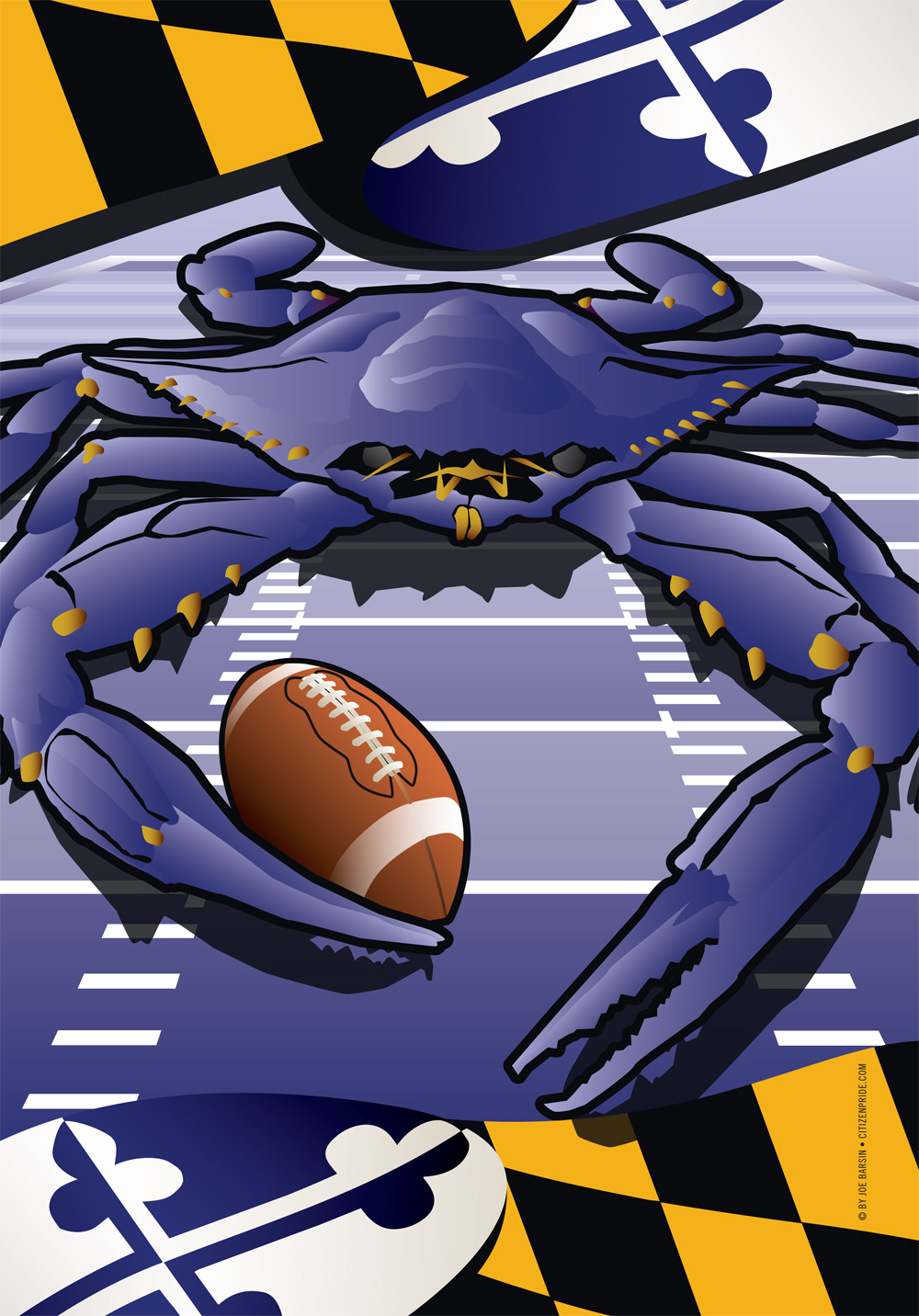 Ravens Sports Crab of Baltimore