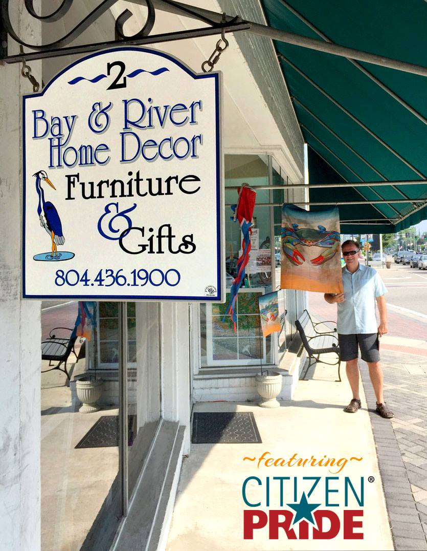 Bay & River Home Decor  is the best shop in Kilmarnock, VA on the Northern Neck!