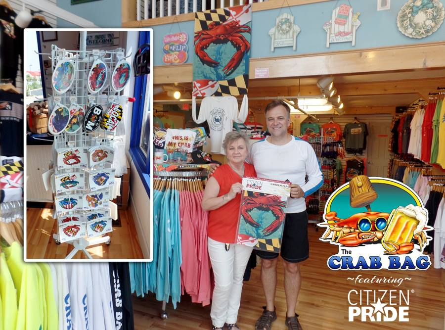 a big shoutout to The Crab Bag Gift Shop in Ocean City!