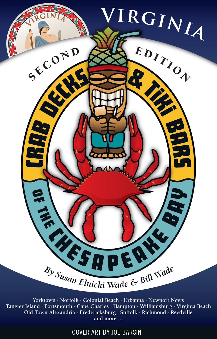 Virginia's Crab Decks & Tiki Bars Book Cover