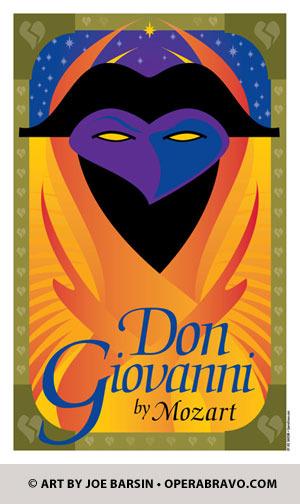 Don Giovanni Opera print and cards for sale — JOE BARSIN