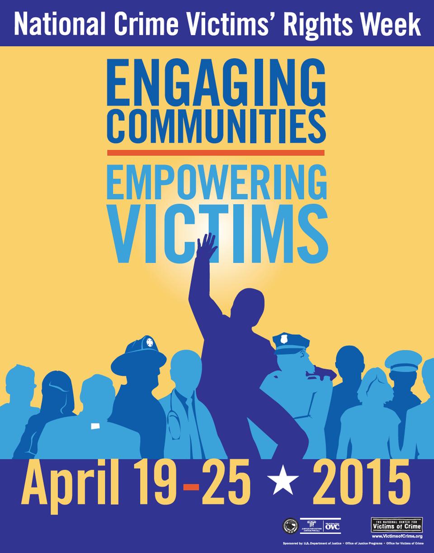 The  2015 National Crime Victims' Rights Week Poster  by  Joe Barsin
